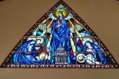 Vitral Igreja do Imaculado Coração de Maria I